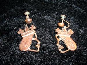 Rebajes Copper Queen Earrings