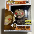 Dragon Ball Z Great Ape Goku 6 In Funko Pop Vinyl Figure - Exclusive
