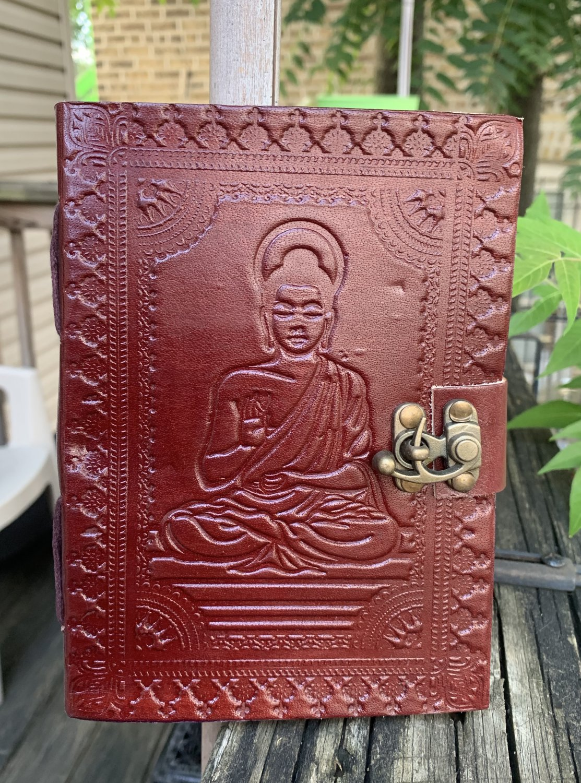 Buddha Handmade Leather Bound Journal