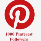 1000 Pinterest Followers in 72 hrs