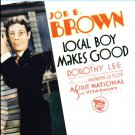 Joe E. Brown 'Local Boy Makes Good' DVD - The Archive Collection!