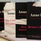 The Sleeping Beauty Trilogy by Anne Rice!