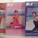 Moving Free Longevity Solution:Flexibility,Strength & Cardio Dance Level 1 DVD's-Beginners,Seniors