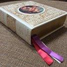 Vintage 1970's KJV Illustrated King James Christian Life Edition Heirloom Holy Bible