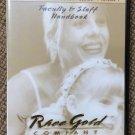 Rhee Gold Dance School Management Series - Volume 1 Faculty and Staff Handbook DVD!