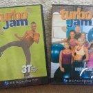Beachbody Turbo Jam 3T Totally Tubular Turbo & Turbo Jam Kickin' Core DVD's - SEALED!