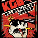 KGB Killer Puzzles Dossier Hardcover Book by Tim Dedopulos- 2018!