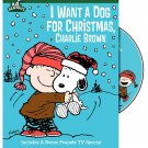 Peanuts: I Want a Dog for Christmas, Charlie Brown (Deluxe Edition) DVD!