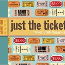 Just the Ticket: Ticket Stub Organizer Ring-bound Book by Peter Pauper Press!
