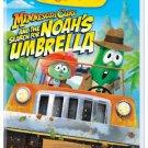 Veggie Tales Minnesota Cuke & the Search for Noah's Umbrella DVD - Sealed!
