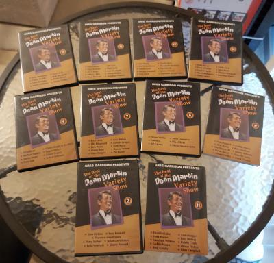 Greg Garrison Presents The Best of the Dean Martin Variety Show 10 DVD's!