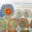 Artful Expressions Coloring Book For Everyone by Bachmann Press - Stress Relieving Patterns!