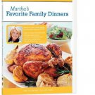 The Martha Stewart Cooking Collection - Martha's Favorite Family Dinners DVD - Sealed!