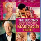 The Second Best Exotic Marigold Hotel Blu-ray DVD - Sealed!