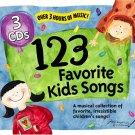 123 Favorite Kids Songs 1-3 CD Box Set - 123 ALL TIME FAVORITES  - Sealed!