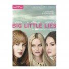 Big Little Lies: Season 1 (Digital HD + DVD) Digital HD with Ultraviolet + 3 DVD Box Set - Sealed!