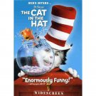 Dr. Seuss' The Cat in the Hat with Mike Myers DVD - Sealed!