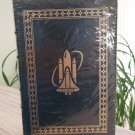 Easton Press - Riding Rockets by Mike Mullane Signed Edition Leather Bound - FACTORY SEALED!