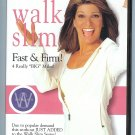 Leslie Sansone's Walk Slim Series: Fast & Firm 4 Really Big Miles DVD - Sealed!