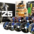 Beachbody Focus T25 Shaun T's DVD Workout Program Comp Fitness Guide & Nutrition Plan - Sealed!