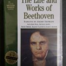 The Life and Works of Beethoven Cassette Audiobook by Jeremy Siepmann - SEALED!