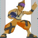 Videogame Embroidery Final Fantasy Blitzball Wakka