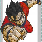Anime embroidery Dragon Ball Z Goku