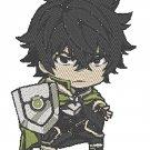 Anime Embroidery Pattern Shield Hero Naofumi Chibi