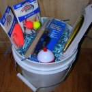 Fishing Gift Basket Loaded with Tackle!  (Item#skip00
