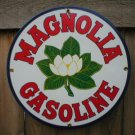 MAGNOLIA GASOLINE PORCELAIN SIGN GAS & OIL METAL SIGNS