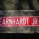 LARGE EARNHARDT JR DR SIGN METAL RACING ADV SIGNS E