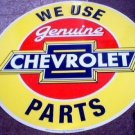 GENUINE CHEVROLET PARTS TIN SIGN 24""
