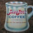 LARGE JAVA JOLT COFFEE HEAVY TIN SIGN