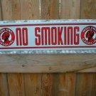 MOHAWK NO SMOKING SIGN METAL ADV GAS & OIL SIGNS M
