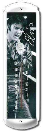ELVIS THERMOMETER SIGN METAL ADV SIGNS E