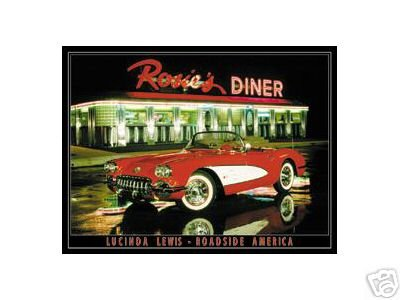 ROSIE'S DINER TIN SIGN RETRO METAL ADV SIGNS R