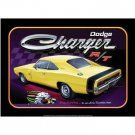 DODGE CHARGER MUSCLE CAR TIN SIGN METAL BAR SIGNS NR