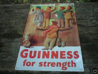 GUINNESS BEER IRISH SIGN IRELAND COLLECTOR SIGN G