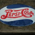 PEPSI COLA OVAL TIN SIGN METAL RETRO ADV AD SIGNS P