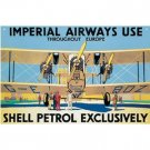 IMPERIAL AIRWAYS TIN SIGN RETRO AIRPLANE FLYING SIGNS A
