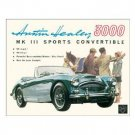 AUSTIN HEALEY TIN SIGN RETRO METAL ADV CAR SIGNS F