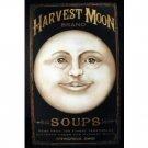 HARVEST MOON SOUPS TIN SIGN METAL FOOD BAR HOME SIGNS H