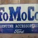 FOMOCO GENUINE ACCESSORIES FORD TIN SIGN METAL SIGNS F