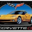 CORVETTE C6 TIN SIGN METAL RETRO ADV SIGNS C