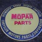 MOPAR PARTS TIN SIGN METAL ADV SIGNS M
