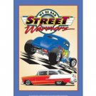 STREET WARRIORS TIN SIGN 55 CHEV FORD METAL ADV SIGNS
