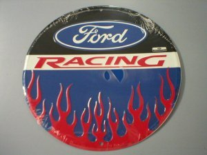 FORD RACING TIN SIGN DECORATIVE METAL ADV SIGNS S