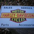 MOTORCYCLE PARTS METAL BIKE BAR SIGN TIN SIGN H