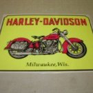 MILWAUKEE MOTORCYCLE METAL BIKE BAR SIGN TIN SIGN H