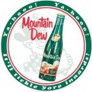 MOUNTAIN DEW TIN SIGN COLLECTOR METAL SIGNS M